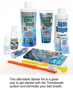 Bad breath, tonsil stones starter kit